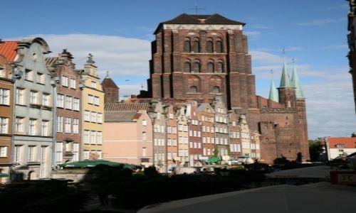 POLSKA / -Pomorze / Gdańsk / Bazylika Mariacka w Gdańsku
