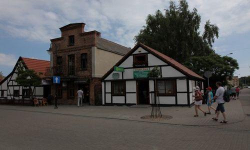 POLSKA / Pomorze / Hel / Na deptaku