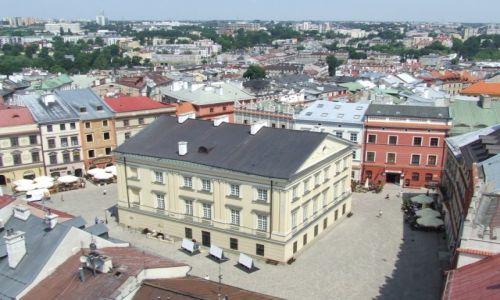 Zdjecie POLSKA / lubelskie / Lublin / widok z Trynitarskiej