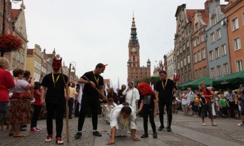POLSKA / Pomorze / Gdańsk, Jarmark Św. Dominika w Gdańsku / Chrzest drukarza