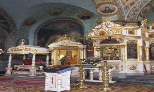 Zdjęcie POLSKA / Lubelskie / Jabłeczna / wnętrze monasteru