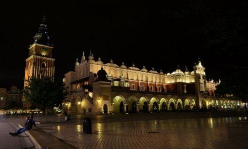 Zdjęcie POLSKA / Małopolska / Kraków / Rynek w Krakowie