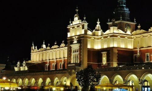 POLSKA / Małopolska / Kraków / Rynek w Krakowie