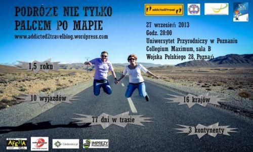 POLSKA / --- / --- / Prelekcja Podróże nie tylko palcem po mapie