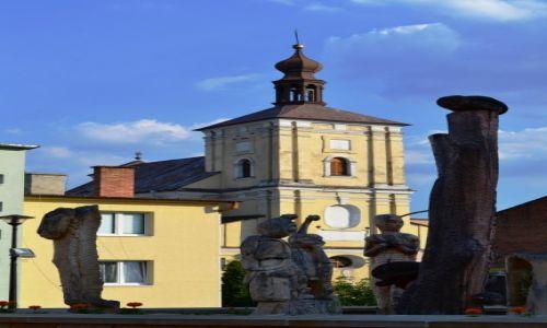 Zdjęcie POLSKA / Lubelszczyzna / Szczebrzeszyn / Kościół pw św. Katarzyny Aleksandryjskiej