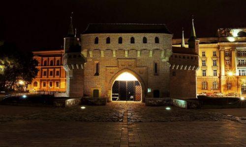 POLSKA / Małopolska / Kraków / Barbakan