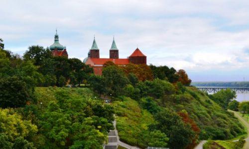 Zdjecie POLSKA / Mazowieckie / Płock / Wzgórze Tumskie dniem