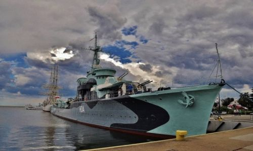 Zdjecie POLSKA / Pomorze / Gdynia / Gdynia port