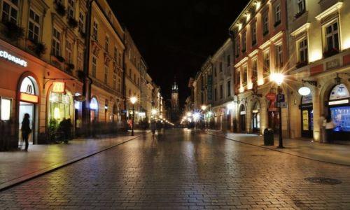 POLSKA / Małopolska / Kraków / Kraków, ulica Floriańska
