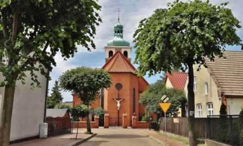 POLSKA / Pomorze / Jastarnia / Jastarnia, kościół