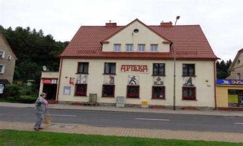 Zdjęcie POLSKA / Dolny Slask / Dolny Slask / Apteka-dawniejszy bank