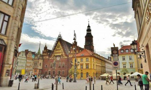 Zdjęcie POLSKA / Dolny Śląsk / Wrocław / Wrocław, rynek