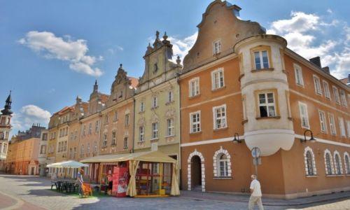 Zdjęcie POLSKA / Śląsk Opolski / Opole / Kamienice na rynku w Opolu