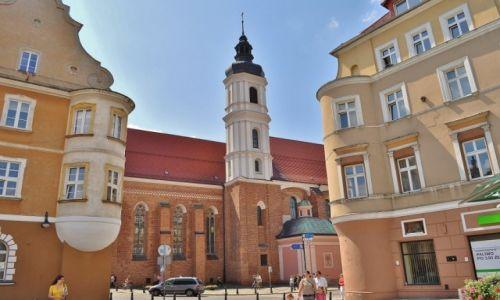 Zdjęcie POLSKA / Śląsk Opolski / Opole / Widok na kościół franciszkański