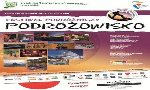 POLSKA / --- / --- / Podróżowisko - Festiwal Podróżniczy - patronat medialny Globtroter.pl