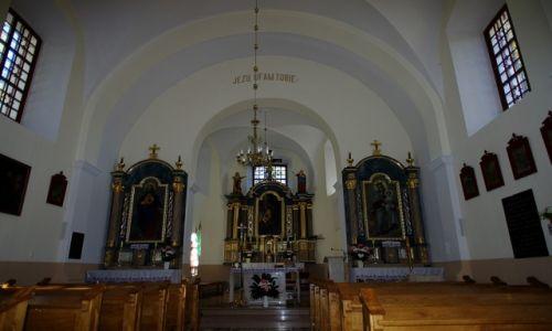 Zdjecie POLSKA / Lubelskie / Neple / Kościół p.w.  Podwyższenia Krzyża Świętego