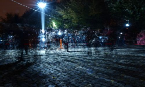 Zdjecie POLSKA / Łódzkie / Łódź / Gra światła z c