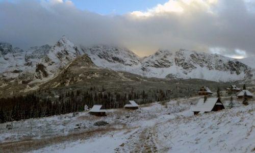 Zdjecie POLSKA / TATRY / Dolina Gąsienicowa / Zima w dolinie