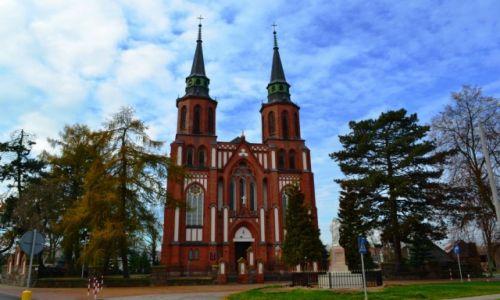 Zdjęcie POLSKA / Mazowieckie / Liw / Neogotycki kościół w Liwie