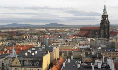 Zdjecie POLSKA / Dolny Śląsk / Wieża / Świdnica widok z wieży