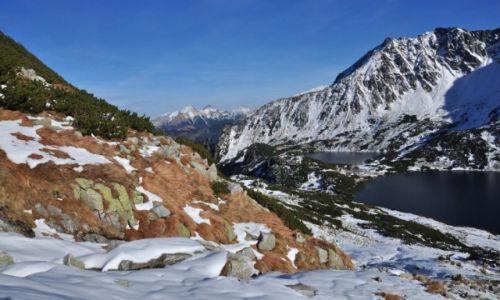 Zdjecie POLSKA / Tatry Wysokie / Dolina Pięciu Stawów / Jesień z Zimą się spotkała