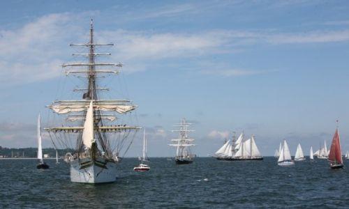 Zdjęcie POLSKA / Pomorze / The Cutty Sark Tall Ship Race Gdynia 2009 / Sørlandet pod żaglami