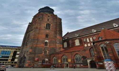 POLSKA / Dolny Śląsk / Wrocław / Wrocław, kościół św. Elżbiety