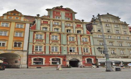 POLSKA / Dolny Śląsk / Wrocław / Wrocław, kamieniczki