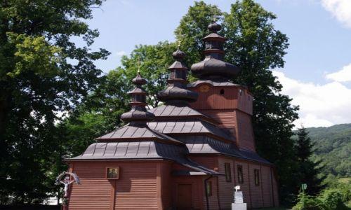 Zdjęcie POLSKA / woj. małopolskie / Wsowa Zdrój / Cerkiew św. Mikołaja Archanioła