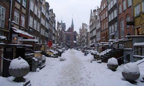 POLSKA / Pomorze / Gdańsk / Ulica Mariacka