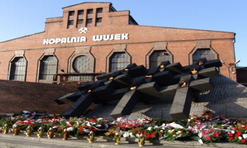 Zdjęcie POLSKA / Śląsk / KWK Wujek w Katowicach / Pamiętamy