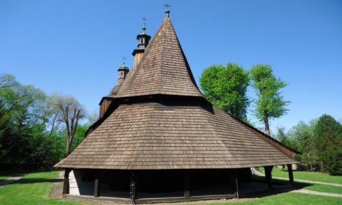 Zdjęcie POLSKA / Województwo małopolskie / Sękowa - Beskid Niski / Kościół w Sękowej (2)