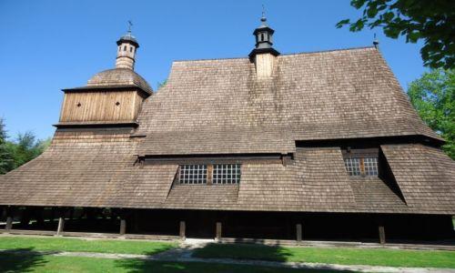 Zdjęcie POLSKA / Województwo małopolskie / Sękowa - Beskid Niski / Kościół w Sękowej (3)