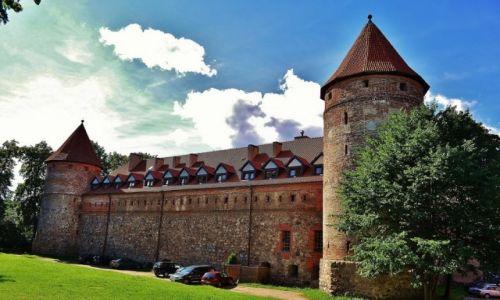 Zdjęcie POLSKA / Pomorze / Bytów / Bytów, zamek krzyżacki