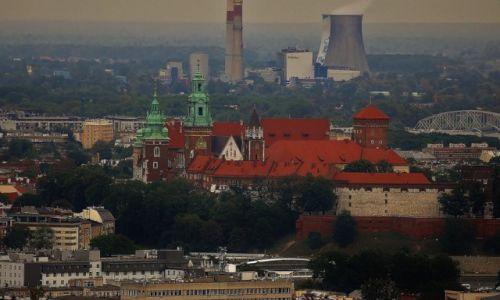 Zdjecie POLSKA / Małopolska / Kraków / Kraków, widok na Wawel