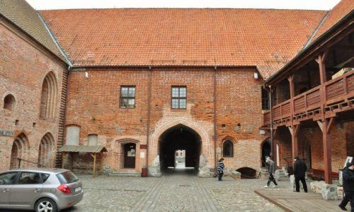 Zdjęcie POLSKA / Warmia i Mazury / Iława / Ostróda, zamek krzyżacki