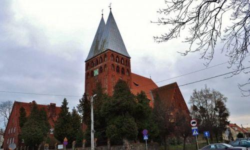 Zdjęcie POLSKA / Warmia i Mazury / Iława / Ostróda, kościół protestancki