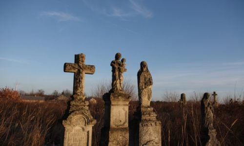 Zdjecie POLSKA / Roztocze Wschodnie / Nowe Brusno / Bruśnieński cmentarz