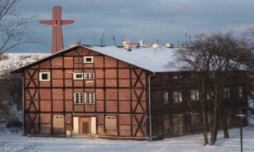 Zdjecie POLSKA / Gdańsk / Góra Gradowa / Grodzisko i Krzyż Milenijny