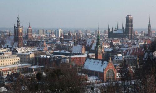 POLSKA / Gdańsk / Góra Gradowa / Panorama Gdańska