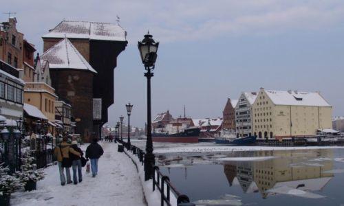 Zdjecie POLSKA / Pomorze / Gdańsk / Nad Motławą