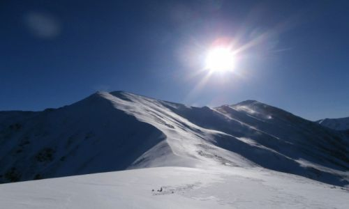 Zdjecie POLSKA / Tatry / Kończysty Wierch / w drodze na Starorobociański Wierch 2176 mpm 4 lutego 2014