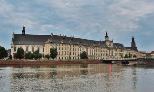 Zdjęcie POLSKA / Dolny Śląsk / Wrocław / Wrocław, uniwersytet