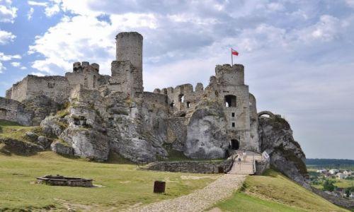Zdjęcie POLSKA / Jura / Ogrodzieniec / Ogrodzieniec, zamek