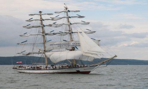 Zdjęcie POLSKA / Pomorze / Zatoka Gdańska / STS Fryderyk Chopin