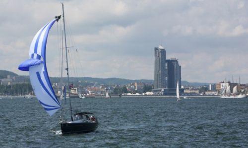 Zdjęcie POLSKA / Pomorze / Gdynia - The Tall Ships' Races Gdynia 2009 / Gdynia pod żaglami