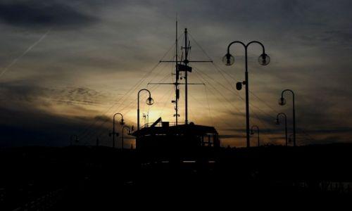 Zdjęcie POLSKA / molo / Sopot / zachód II