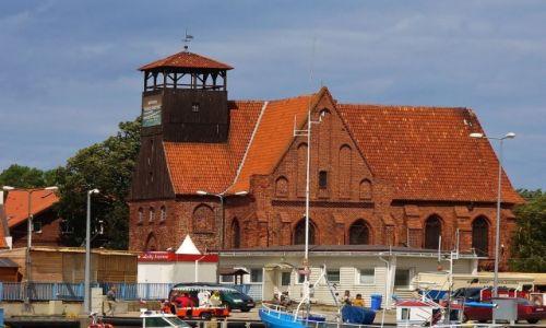 Zdjęcie POLSKA / Kaszuby / Hel / Hel, dawny kościół