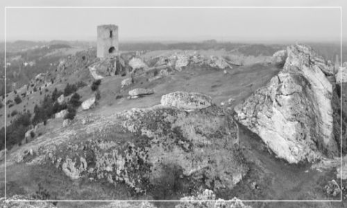 Zdjecie POLSKA / Jura Krakowsko-Częstochowska / Olsztyn / Ruiny zamku z Olsztynie