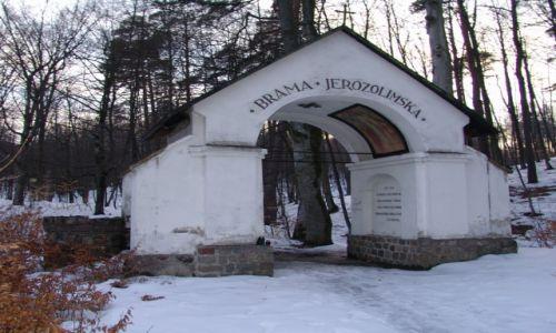 Zdjecie POLSKA / Pomorze / Kalwaria Wejherowska / Brama Jerozolimska